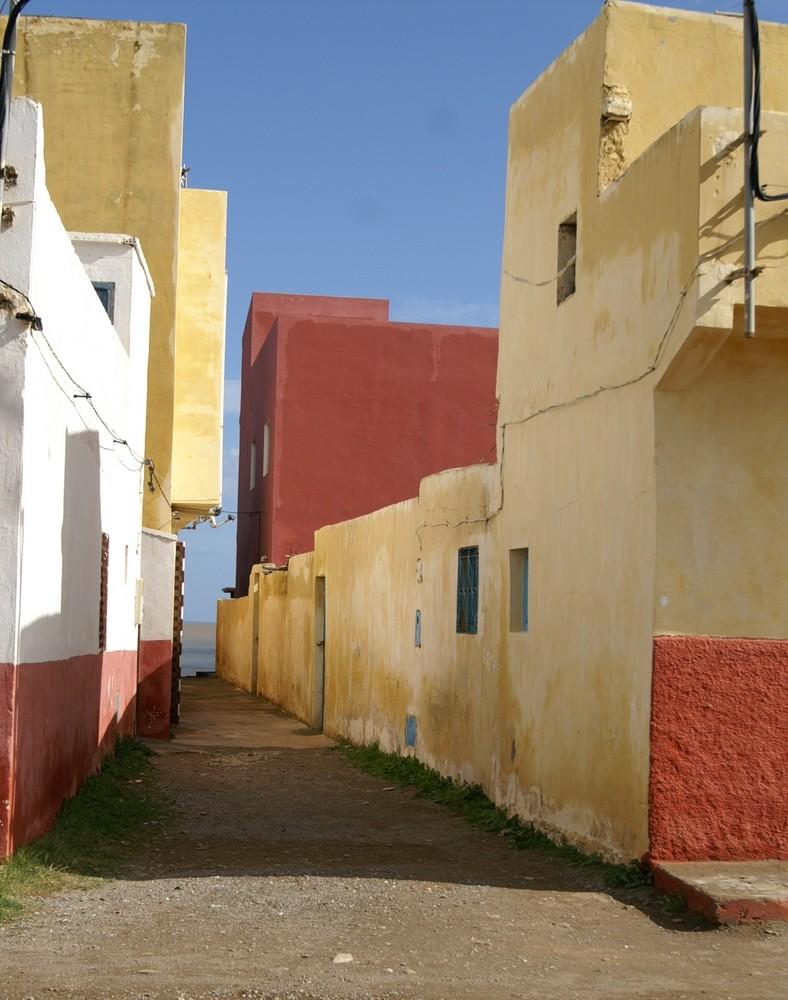 Ruelle de Oued laou
