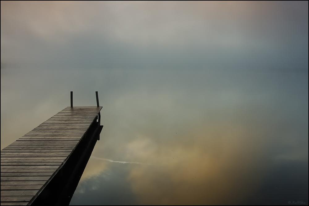 Ruhe sanft und genieße die Stille