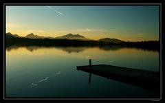 Ruhe überm See
