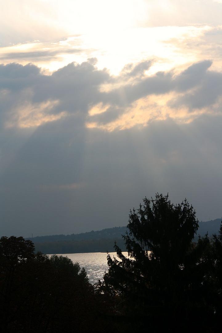 Ruhe vor dem Sturm am Balaton