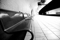 ...Ruhe vor dem Zug....