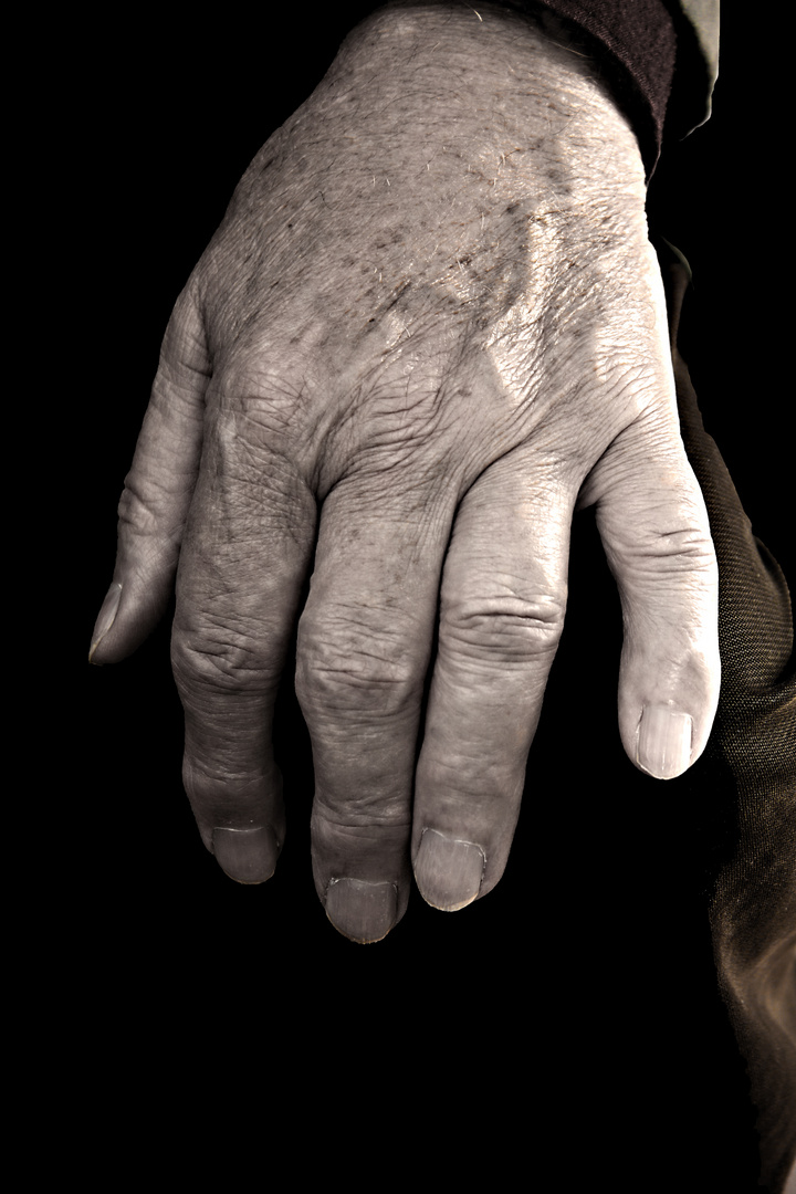 Ruhende Hand
