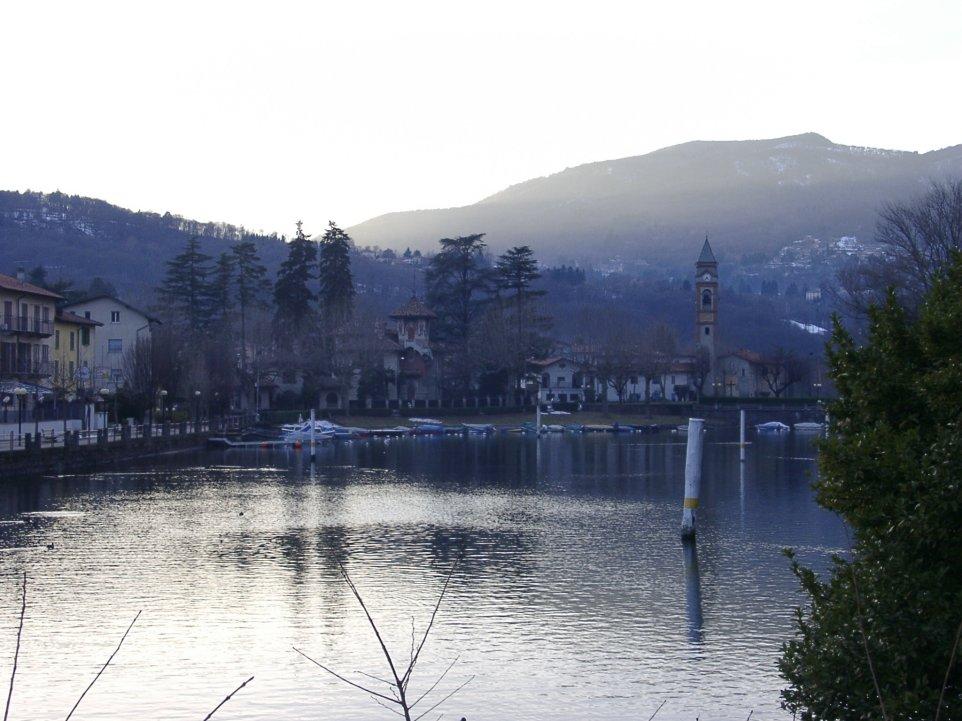 ruhige Abendstimmung in der Nähe von Ponte Tresa I/CH