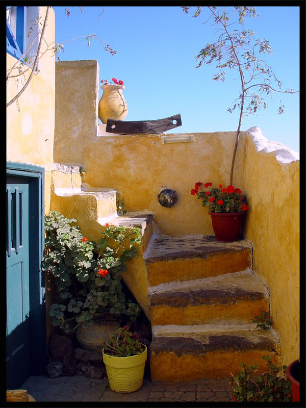 ruhige Treppe
