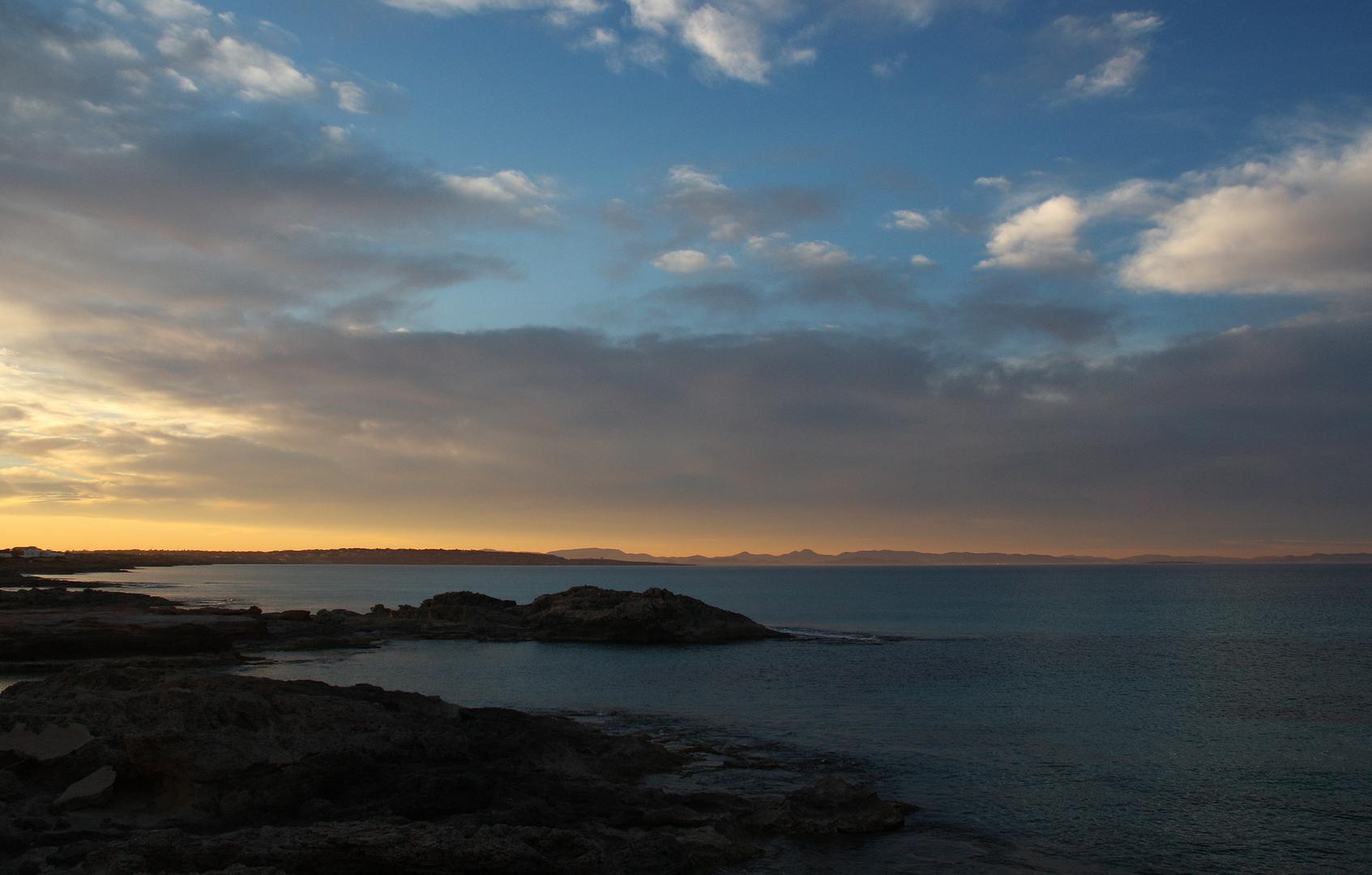 Ruhiger Abend in Es Calo - Formentera