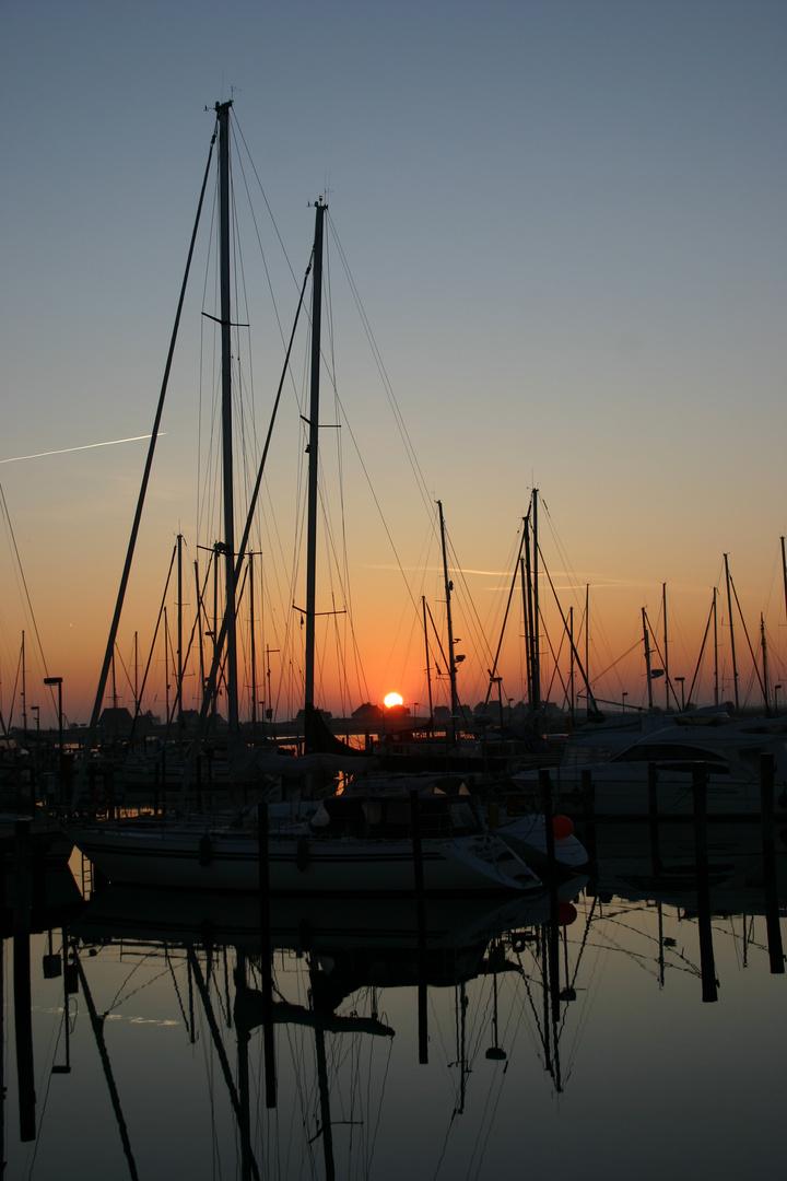 Ruhiger Hafen