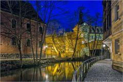 ruhiges Wasser in BambergBamberg