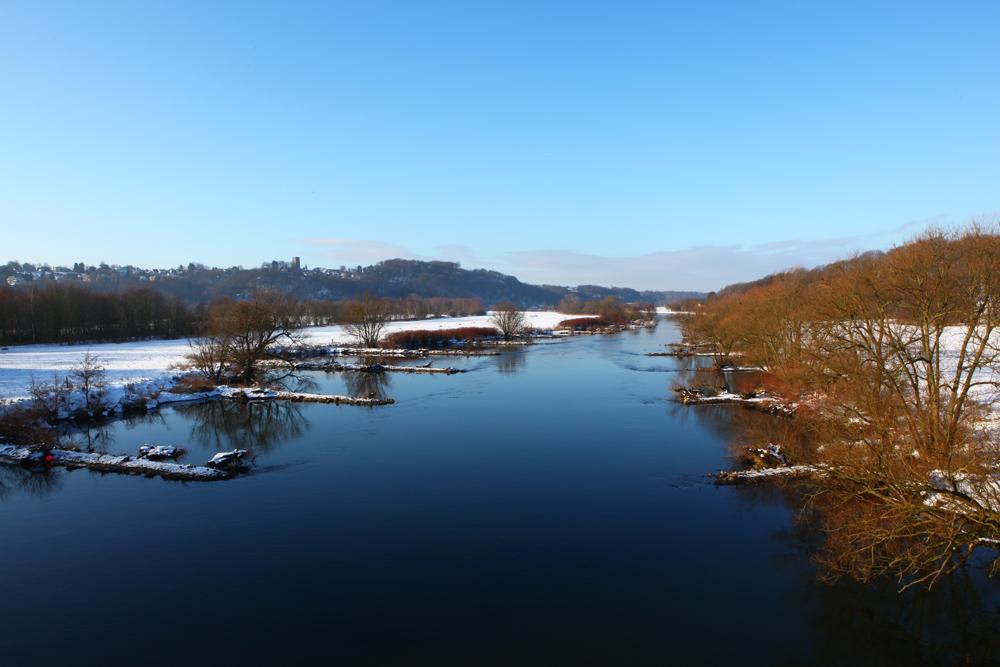 Ruhrtal im Winter