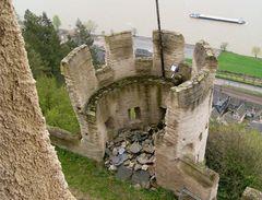 Ruine auf der Marksburg/ Rhein