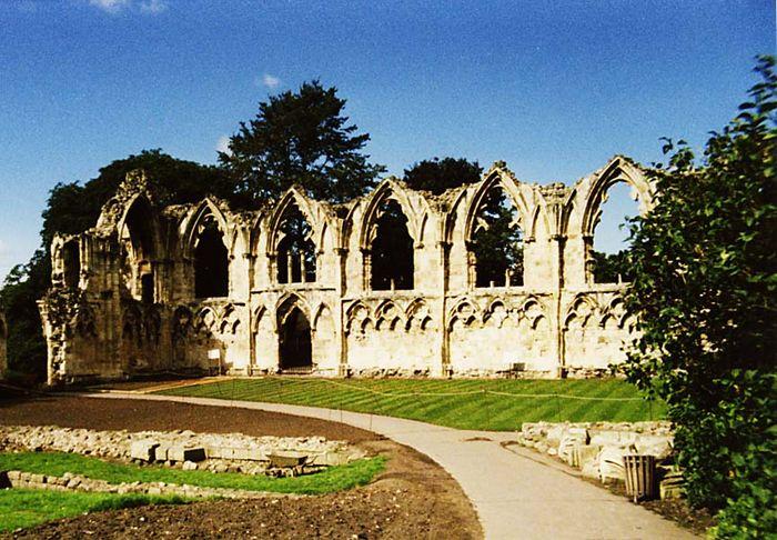 Ruine bei York