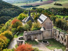 Ruine der Burg Lichtenberg bei Kusel