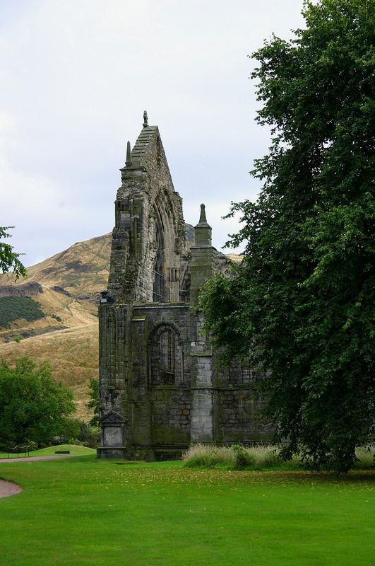 Ruine der Schlosskirche