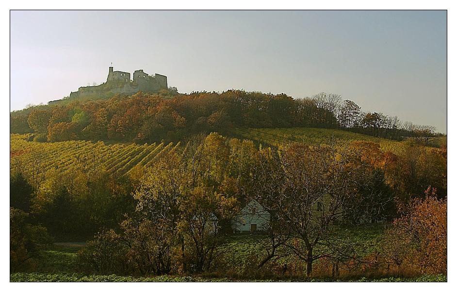 Ruine Falkenstein im Herbst