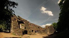 Ruine Kaiserpfalz Kaiserwerth Düsseldorf