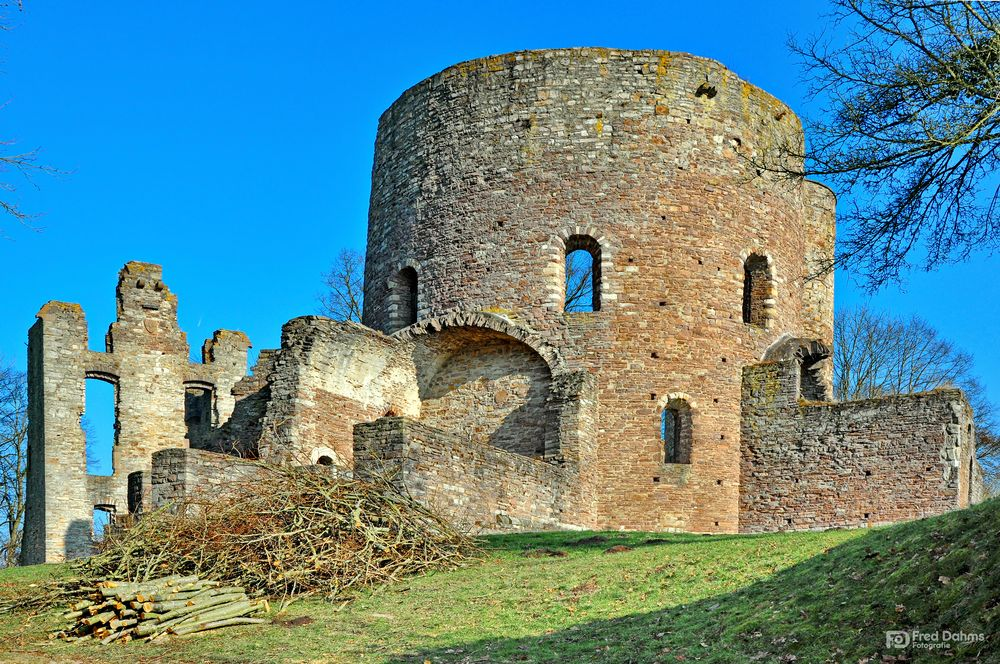 Ruine Krukenburg, Bad Karlshafen II