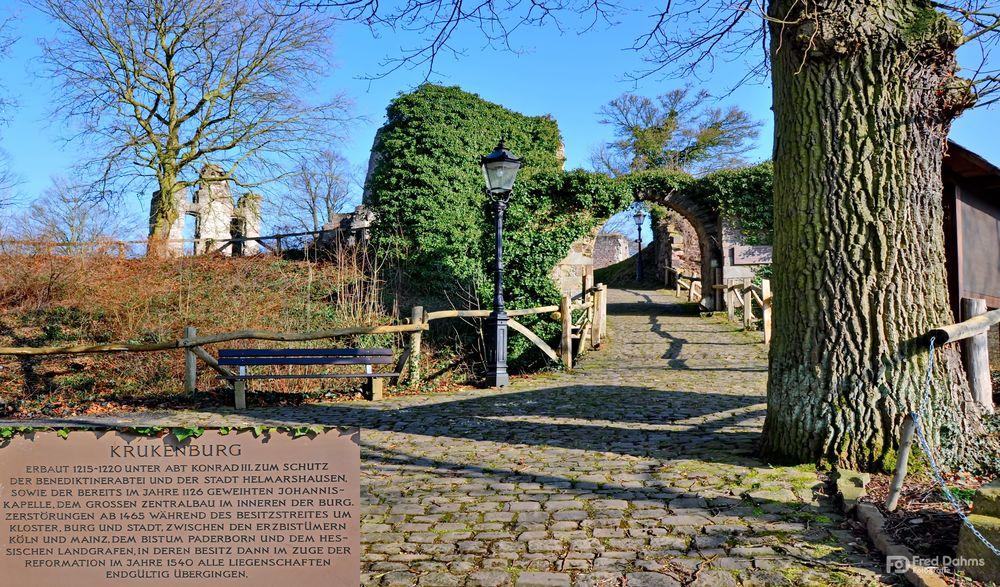 Ruine Krukenburg, Bad Karlshafen IV
