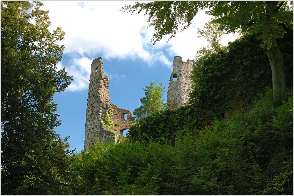 ... Ruine Pfeffingen ...