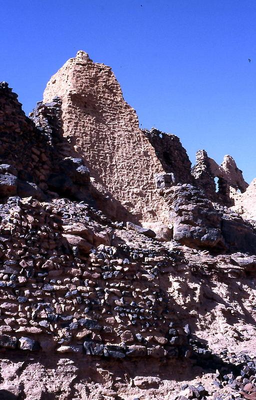 Ruine zwischen Ubari und Ghat