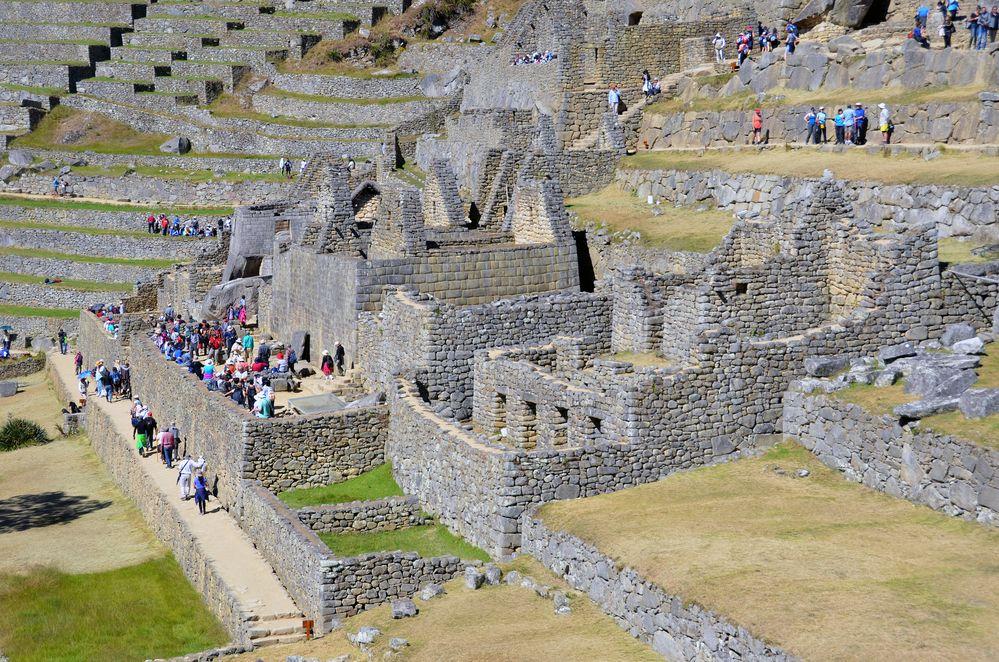 Ruinen der Inkas in Machu Picchu