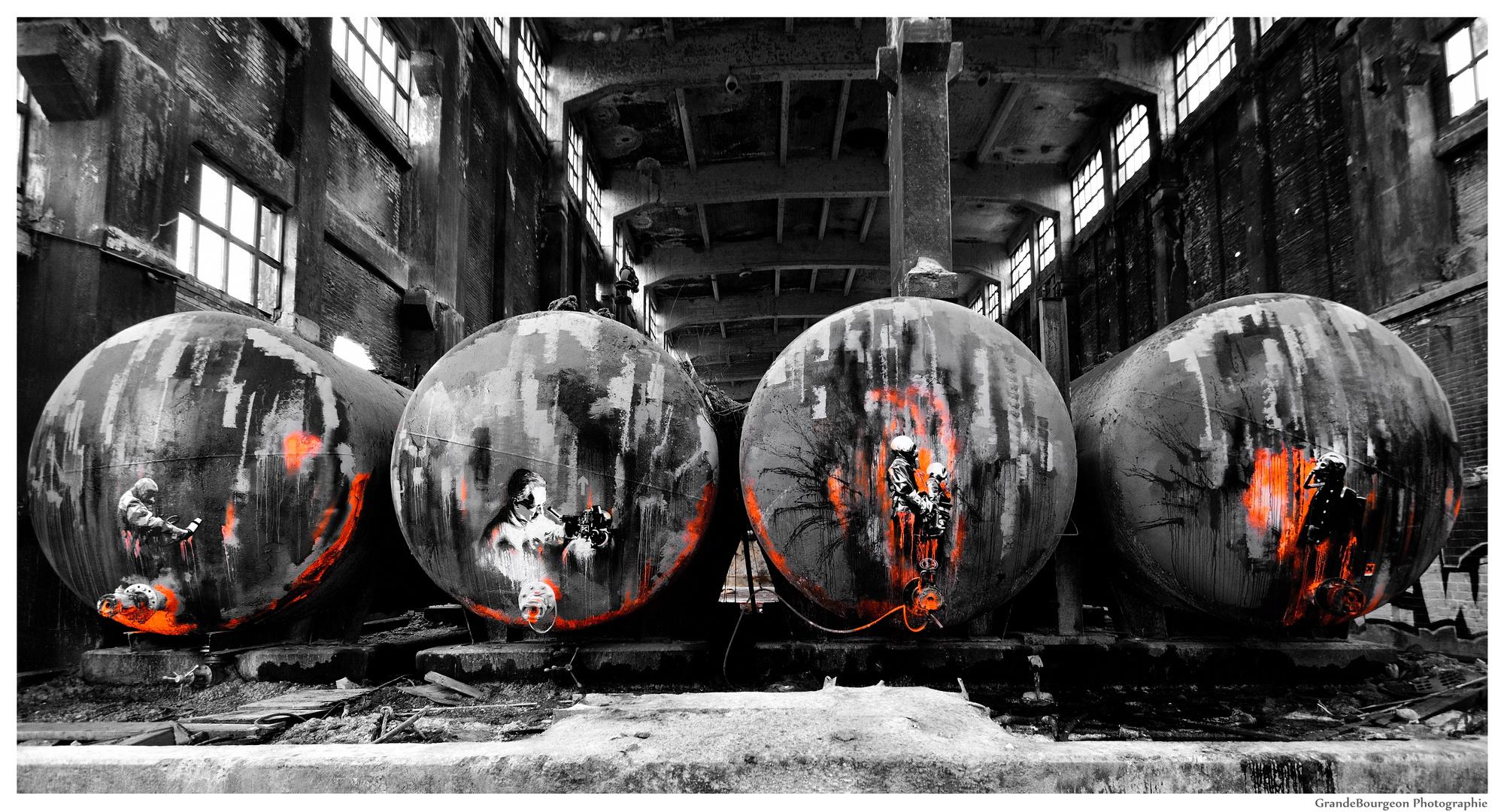 Ruinen-Graffiti