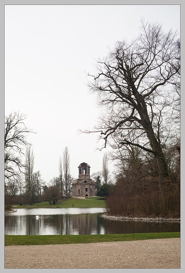 Ruinenspiegelung