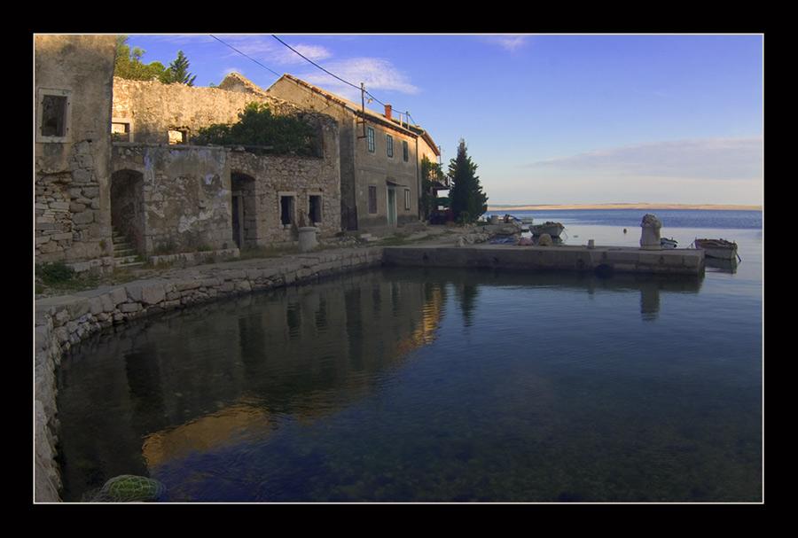 Ruinenstadt an der Adria