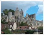 Ruines du Château d'Angles sur l'Anglin