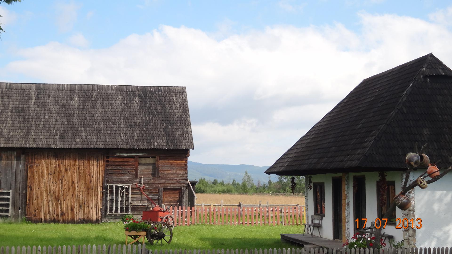 Rumänisches Bauern in Harghita