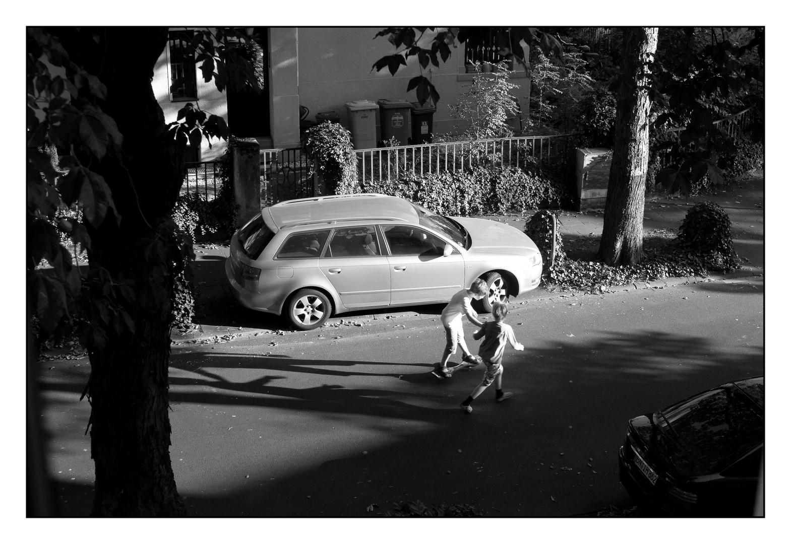 Run, skate, drive