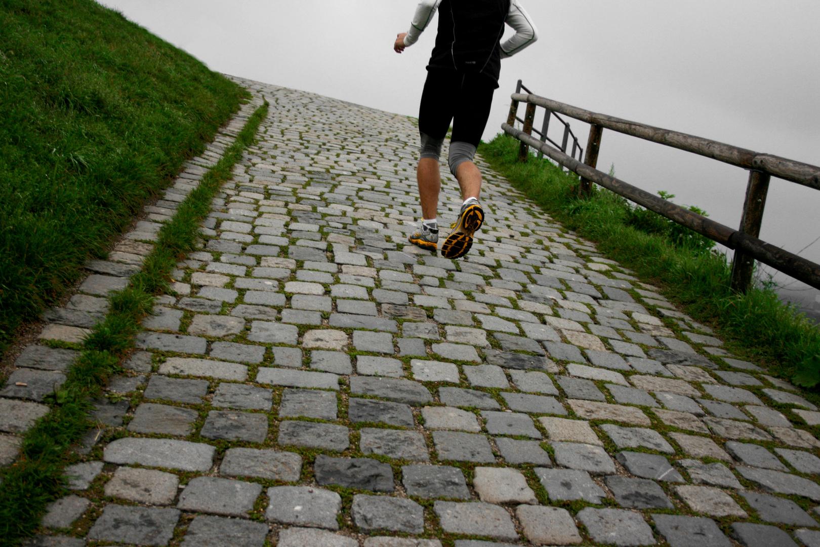 Run up that hill...