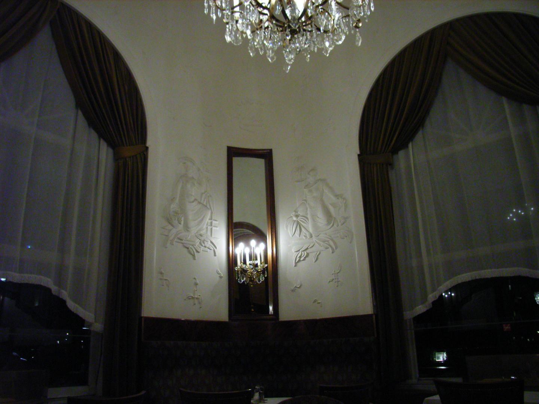 Runder Salon im Café-Restaurant Landtmann, Wien