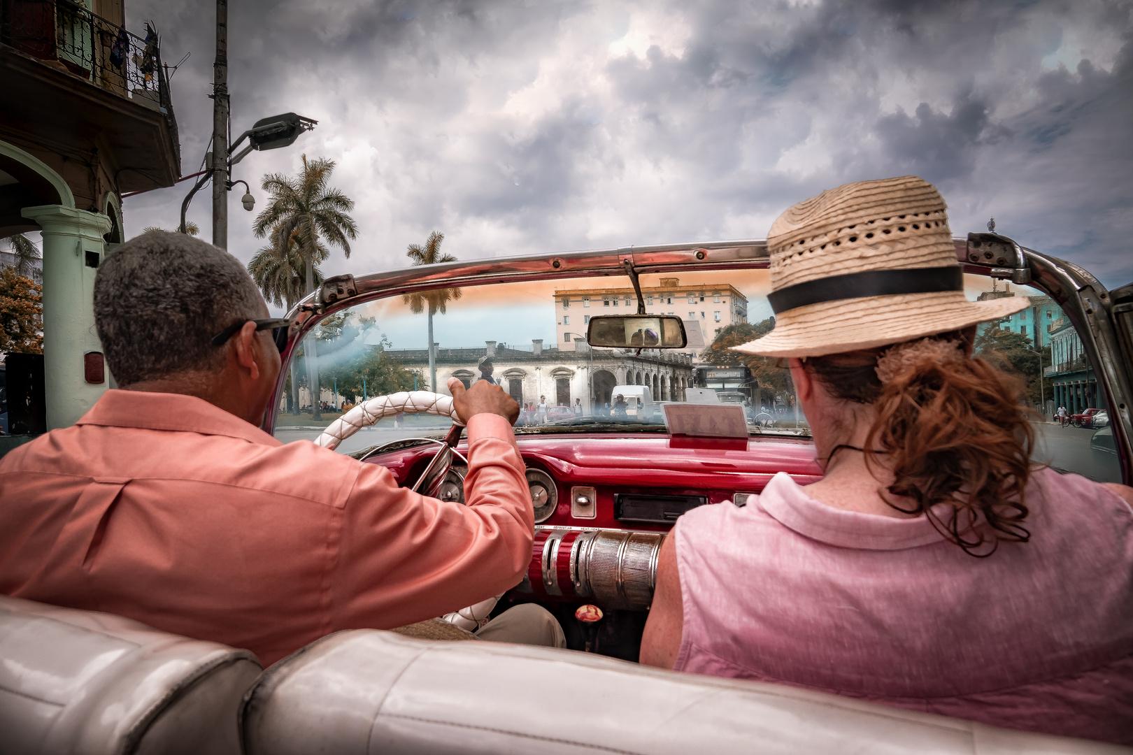 Rundfahrt durch Havanna