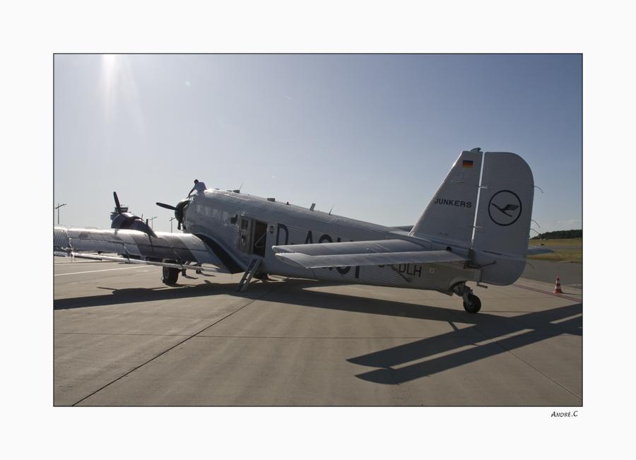 Rundflug mit der Tante Ju -2