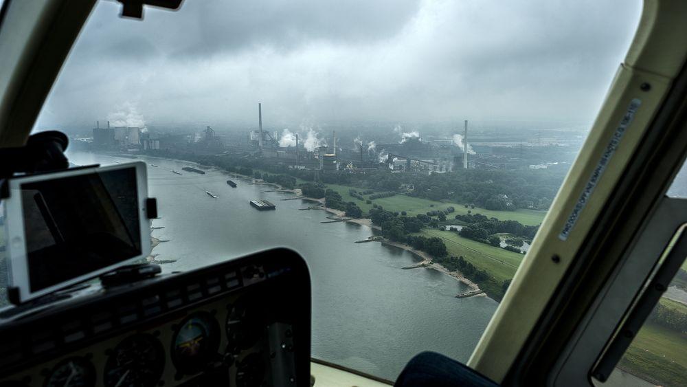 Rundflug mit Hubschrauber Bell Jet Ranger - Foto 19