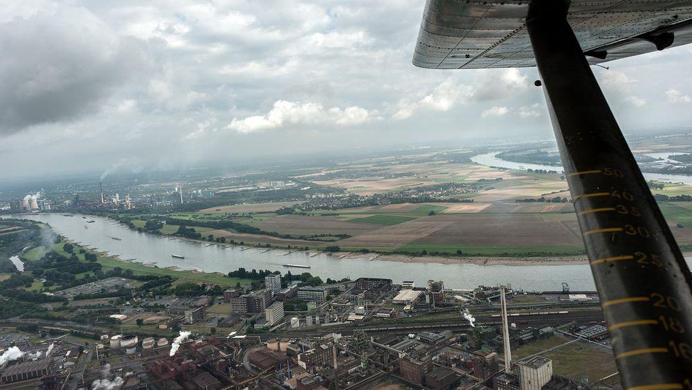 Rundflug mit Oldtimer Broussard - Foto 15