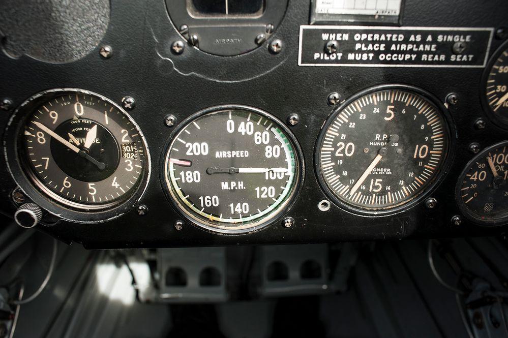 Rundflug mit Oldtimer Ryan PT-22 Cabrio - Foto 9