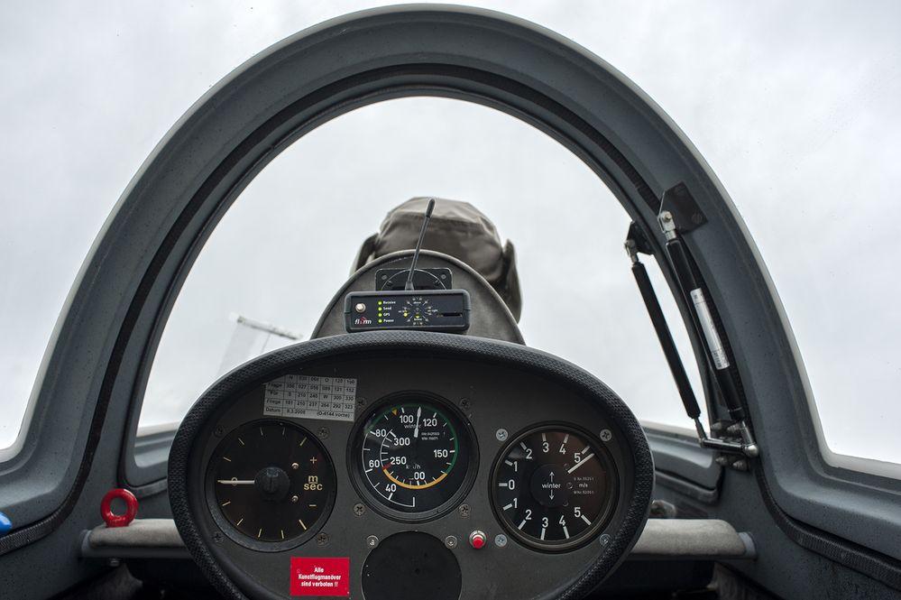 Rundflug mit Segelflugzeug Acro Twin III - Foto 7
