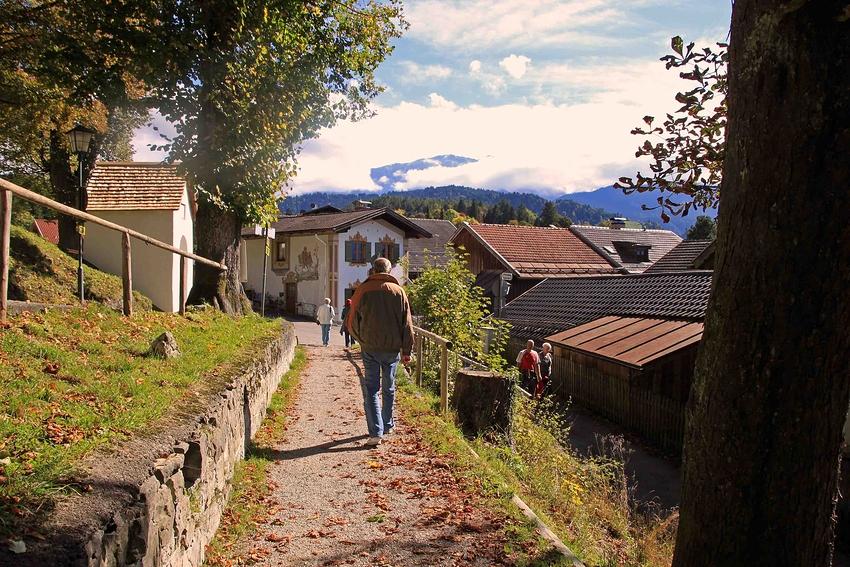 Rundgang durch Partenkirchen: am Philosphenweg