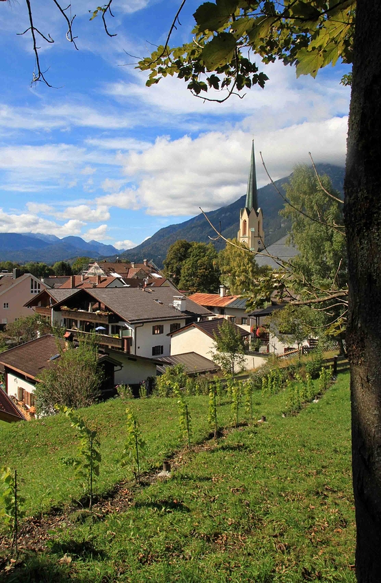 Rundgang durch Partenkirchen: Bilderbuchwetter