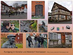 Rundgang im Künstlerdorf