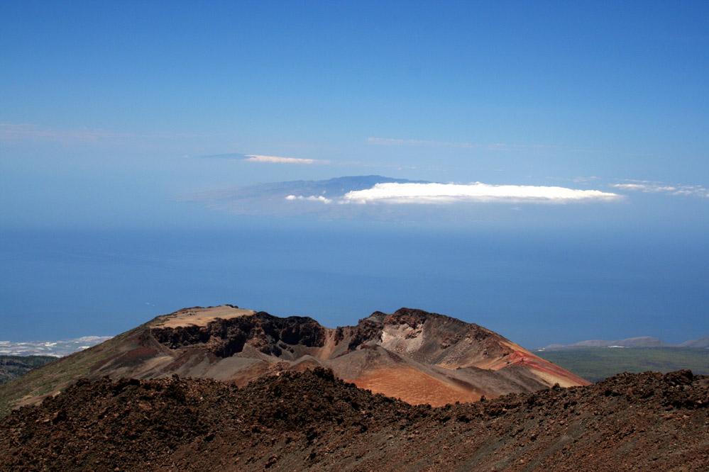 Rundgang mit Ausblick auf dem Teide
