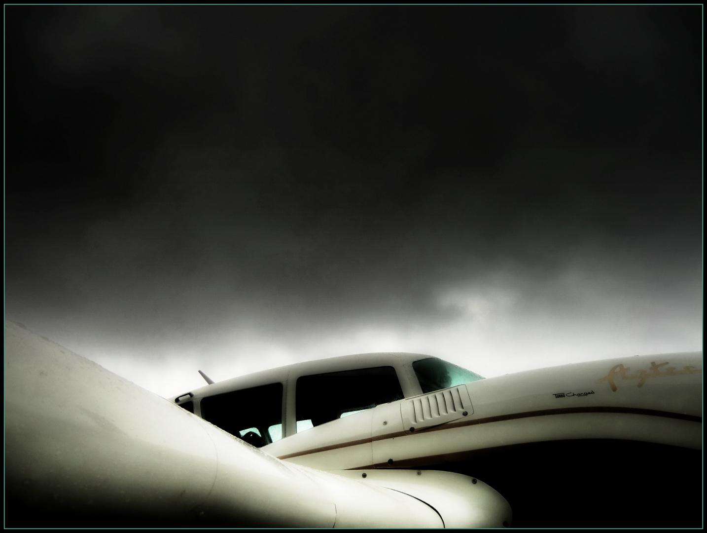 Rundungen...am Flugzeug!