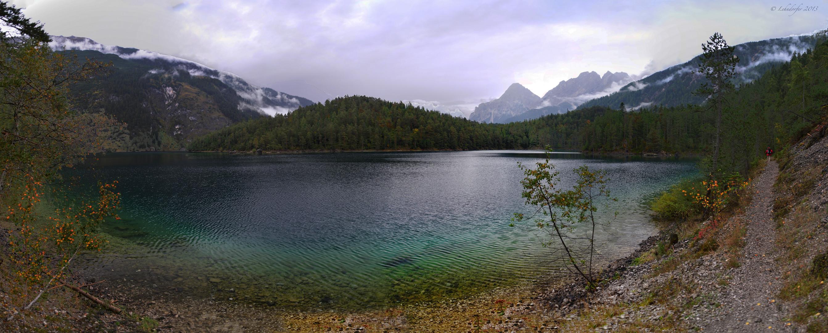 Rundweg um den Blindsee in Tirol