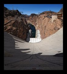 Running down the Hoover Dam