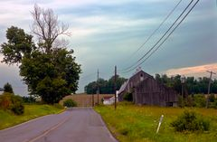 rural landscape, Pennsylvania. USA