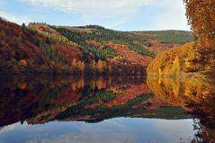 Rursee im Herbst
