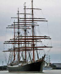 Russ. Segelschulschiff SEDOV