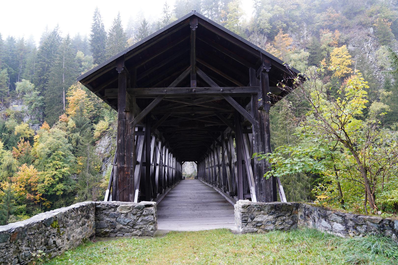 Russeiner Holzbrücke von 1857