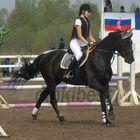 Russian riding Innsbruck and Darina Trenina