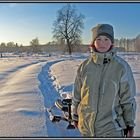 Russian winter.